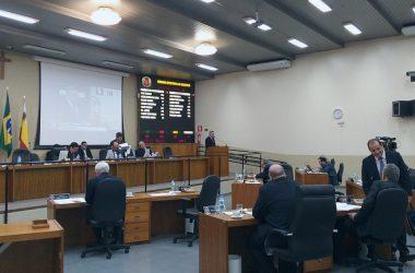 Como é dividida uma Câmara de Vereadores?