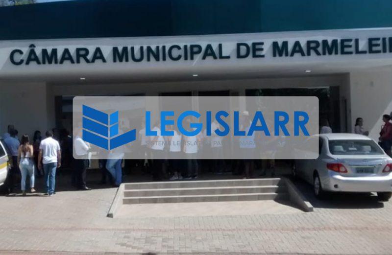 Câmara Municipal de Marmeleiros contrata Sistema Legislativo.