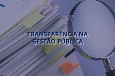 Quando surgiu a Transparência na Gestão Pública?